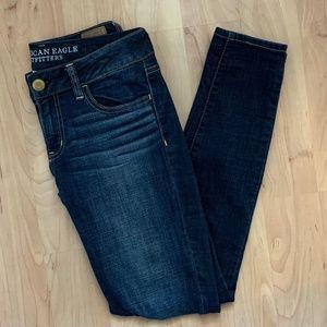 American Eagle Super Stretch Skinny Jeans, 2 Reg